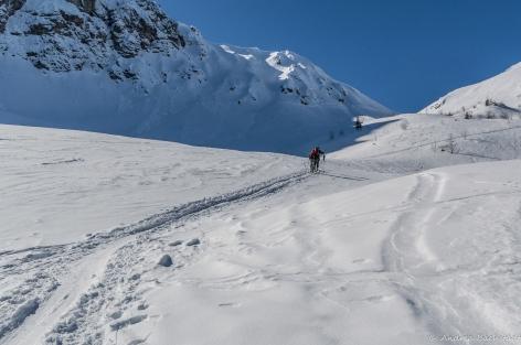 wide white snow